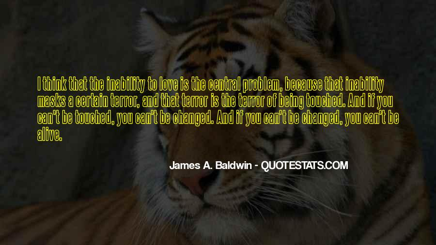 James A. Baldwin Quotes #1098274