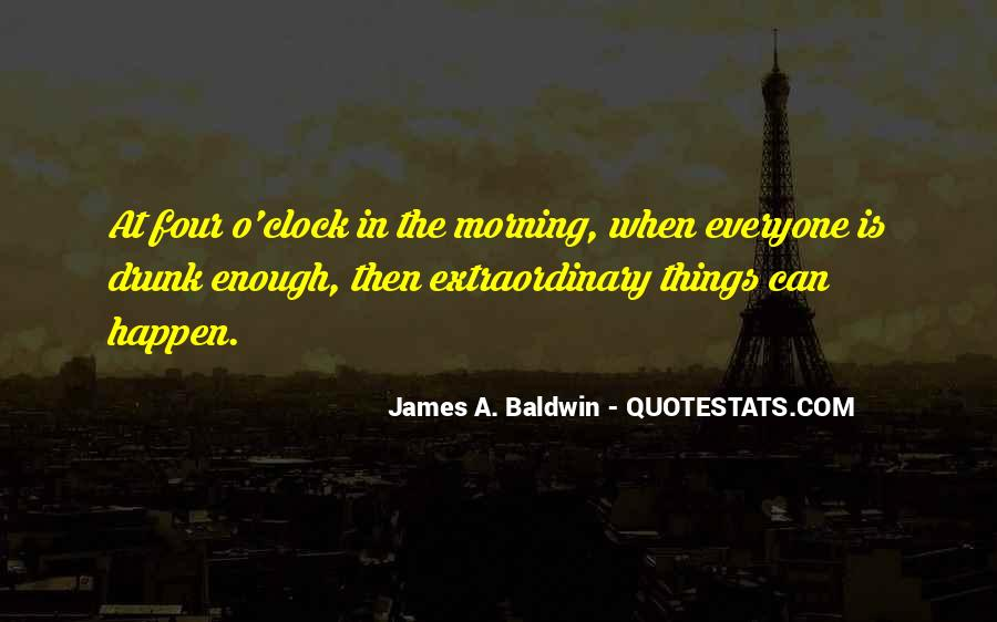 James A. Baldwin Quotes #1240368