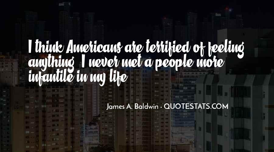 James A. Baldwin Quotes #1431289