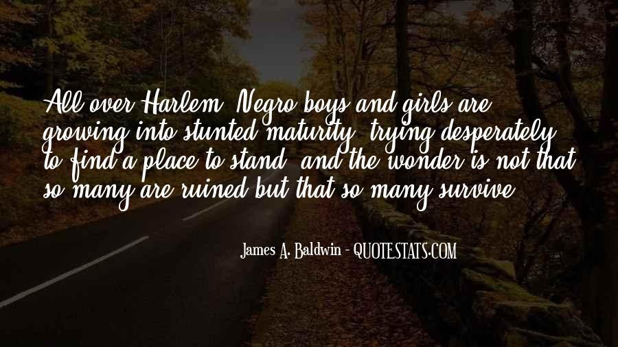 James A. Baldwin Quotes #1443009