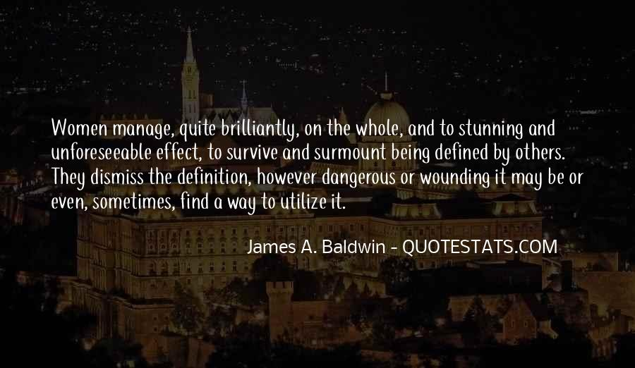James A. Baldwin Quotes #1592367