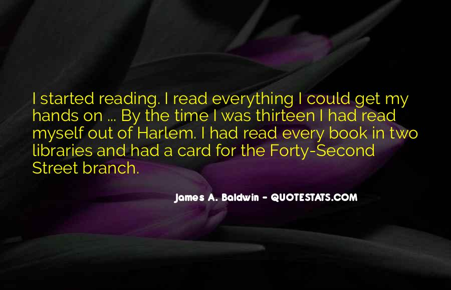 James A. Baldwin Quotes #1630040