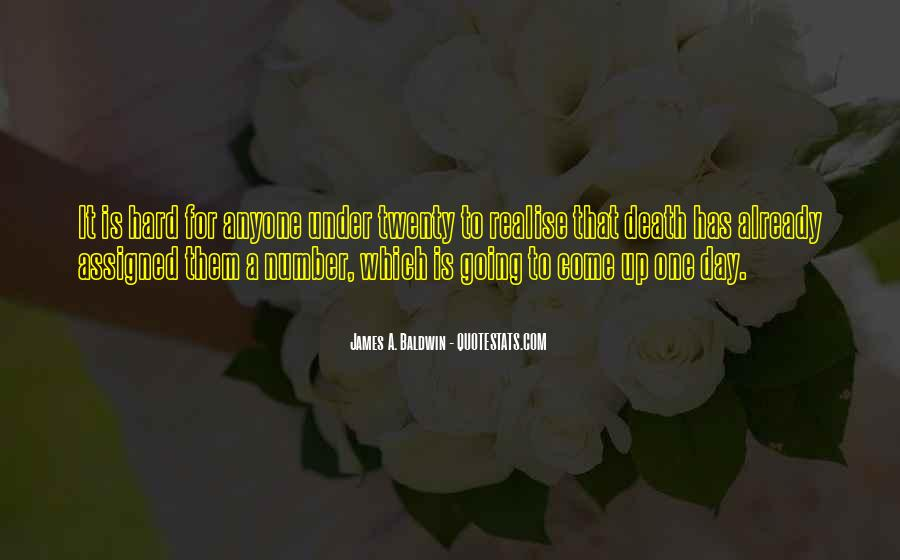 James A. Baldwin Quotes #1636334