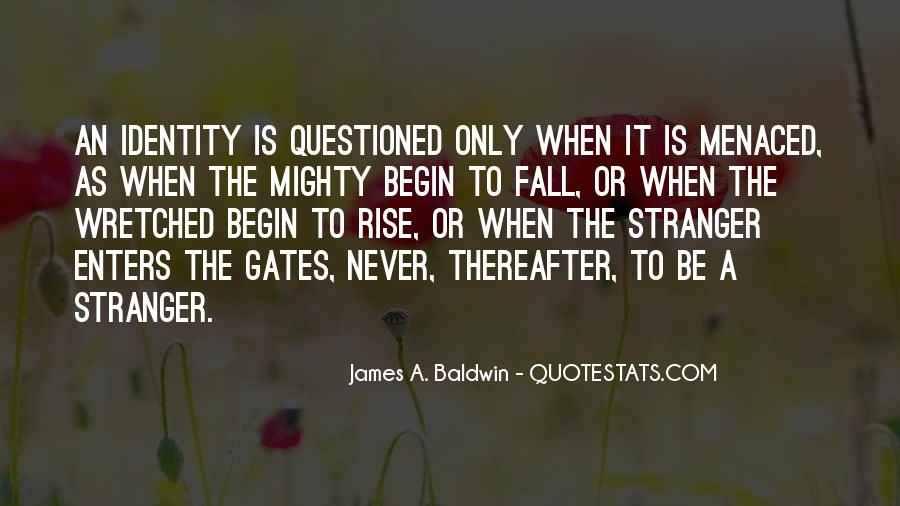 James A. Baldwin Quotes #349659