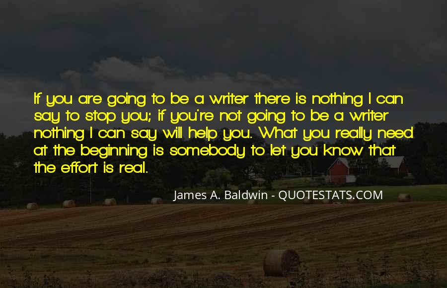 James A. Baldwin Quotes #618332