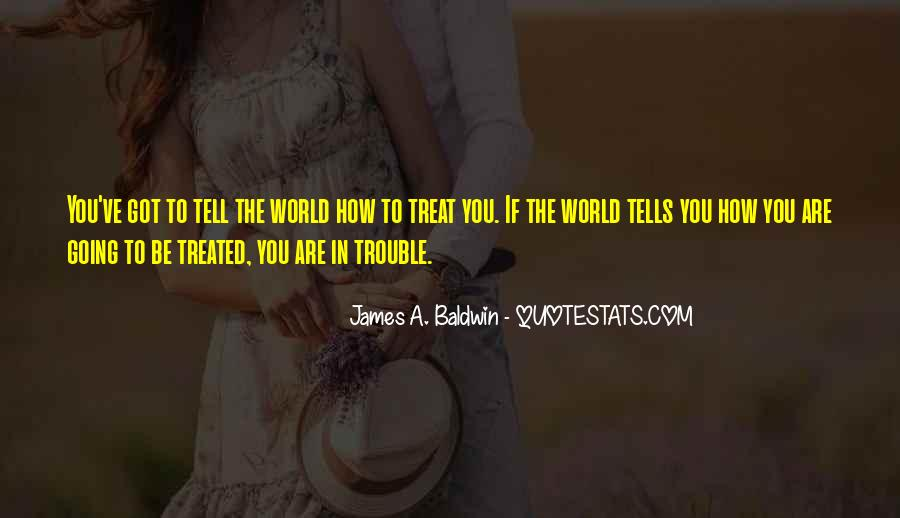 James A. Baldwin Quotes #678036