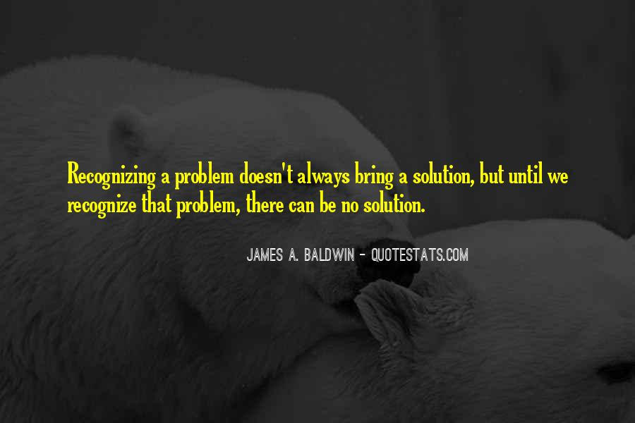 James A. Baldwin Quotes #692900
