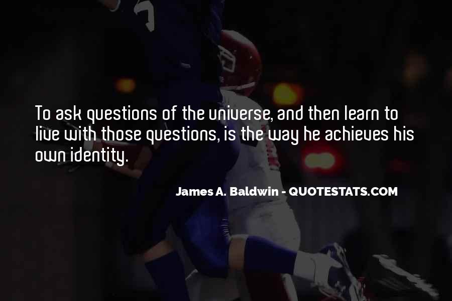 James A. Baldwin Quotes #762825