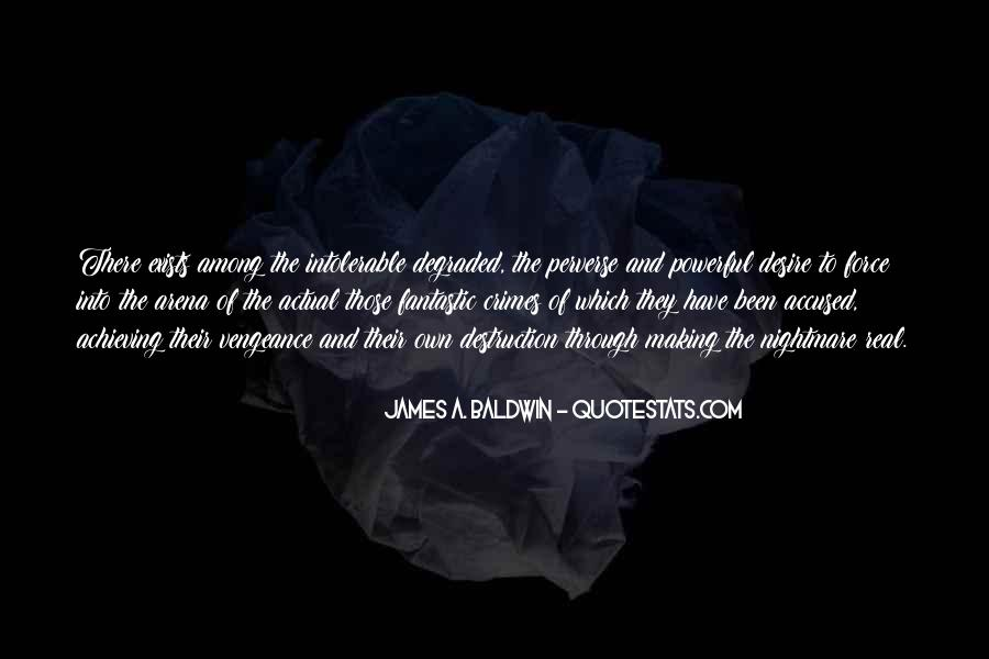 James A. Baldwin Quotes #851887