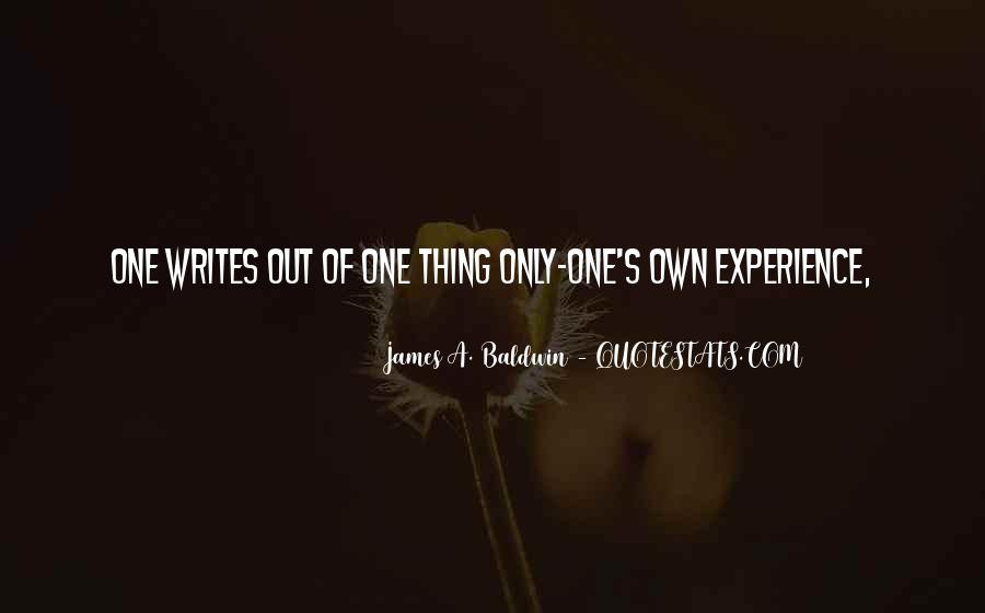 James A. Baldwin Quotes #948929
