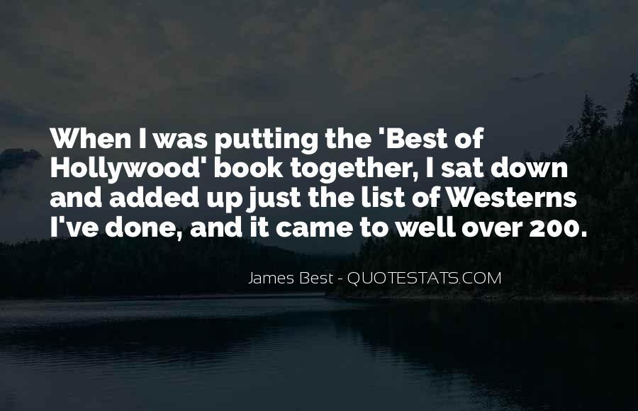 James Best Quotes #93292