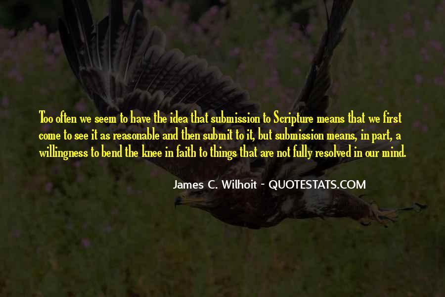 James C. Wilhoit Quotes #734362