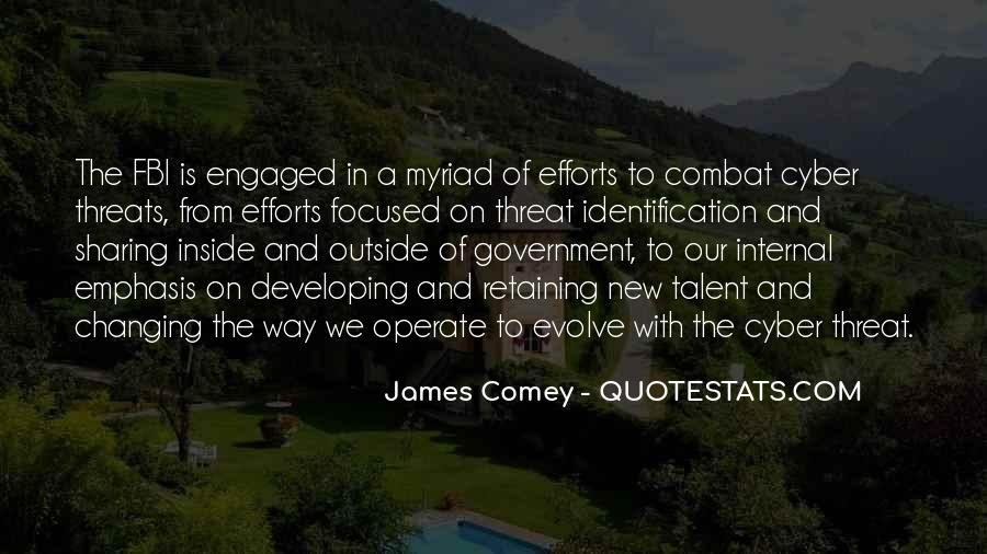 James Comey Quotes #1191915