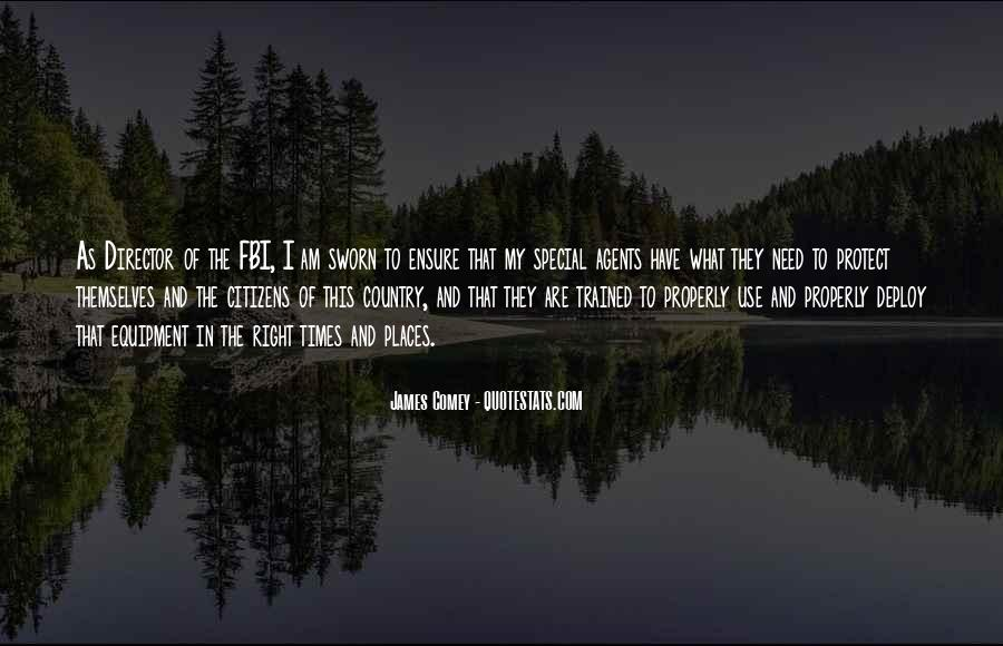 James Comey Quotes #1244129