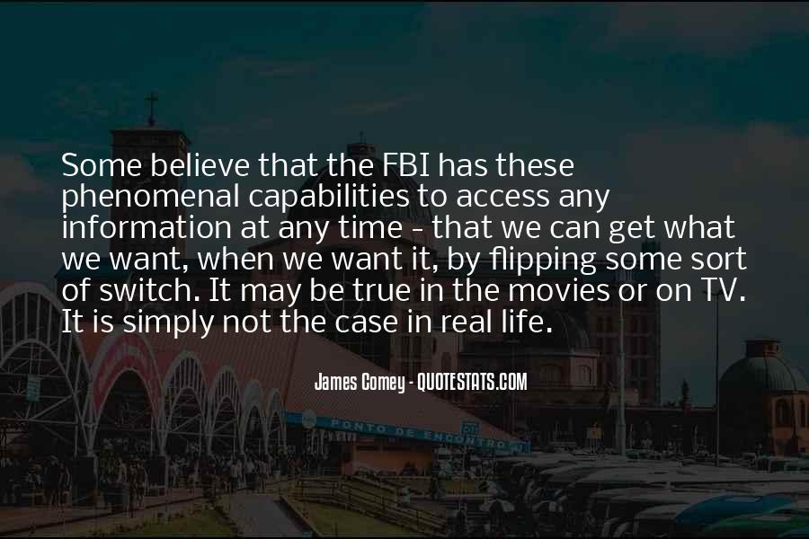 James Comey Quotes #125965