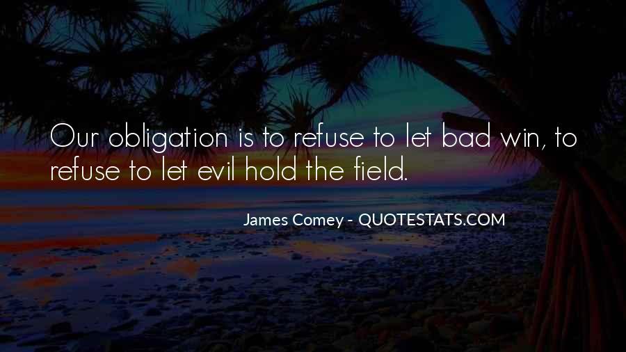 James Comey Quotes #172407