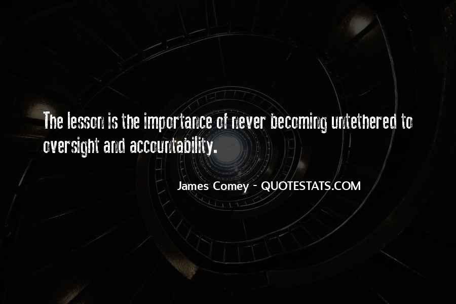 James Comey Quotes #1735939