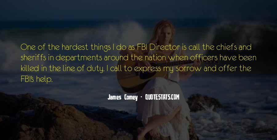 James Comey Quotes #1782988