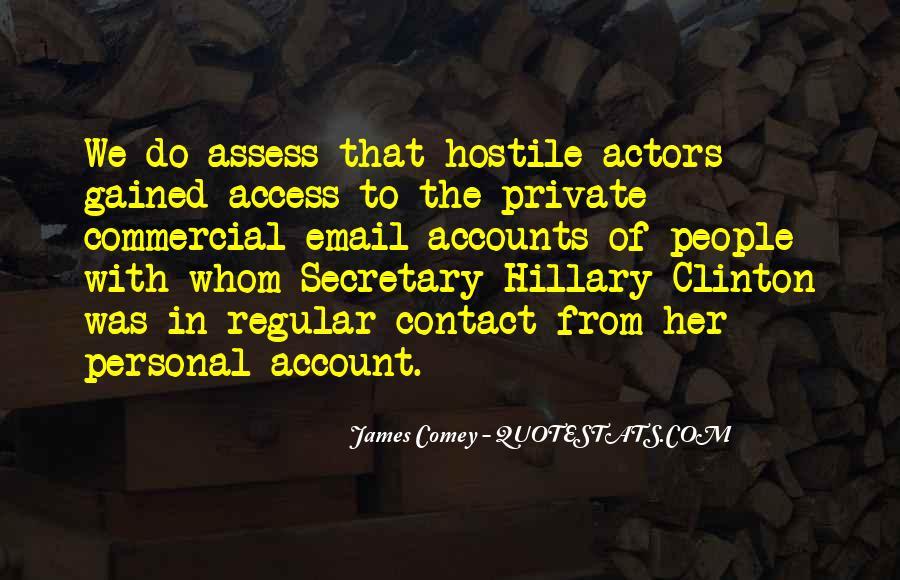 James Comey Quotes #227320