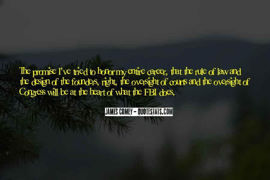 James Comey Quotes #253644