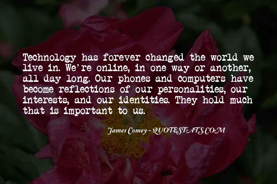 James Comey Quotes #325149