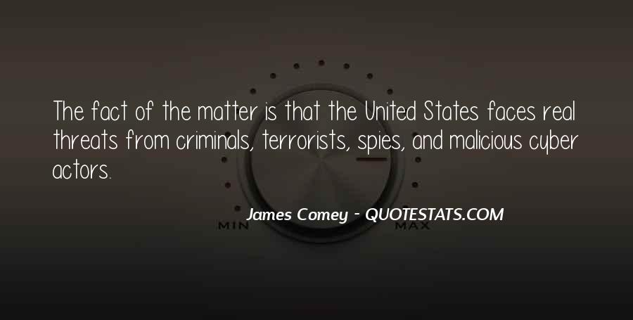 James Comey Quotes #401901