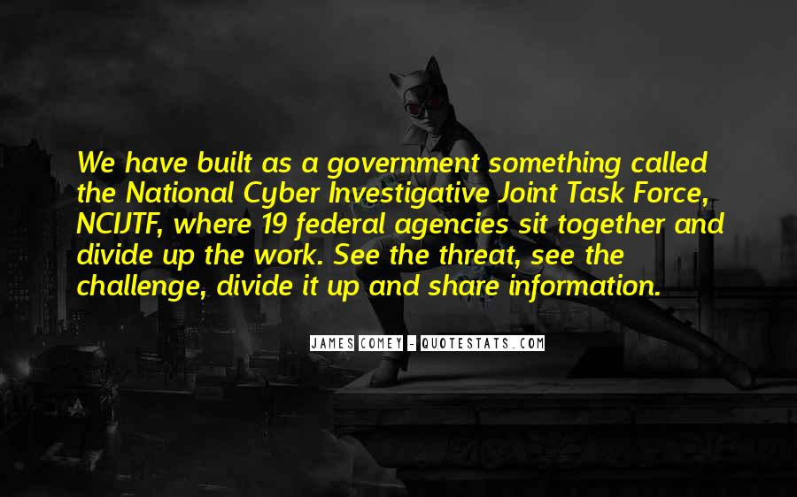 James Comey Quotes #513360