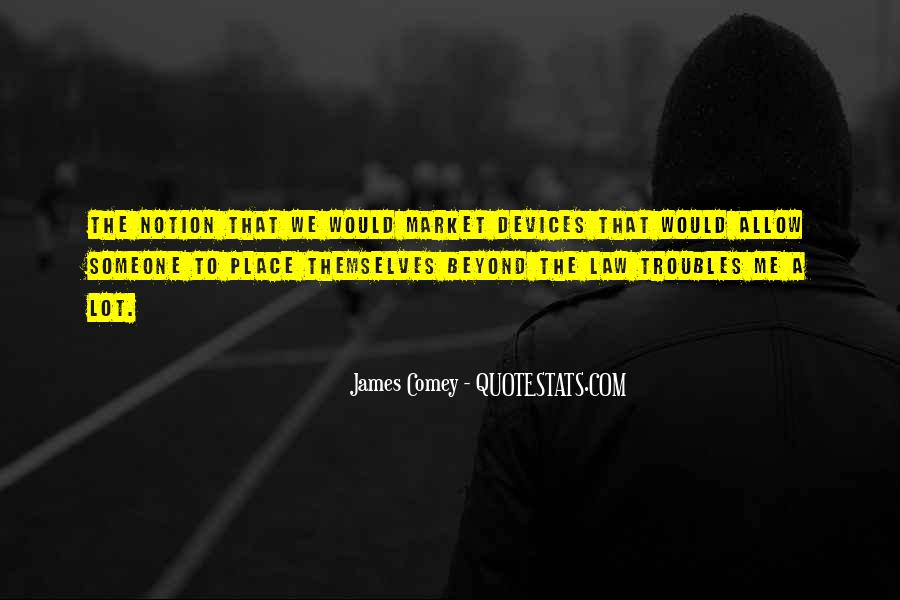 James Comey Quotes #620804