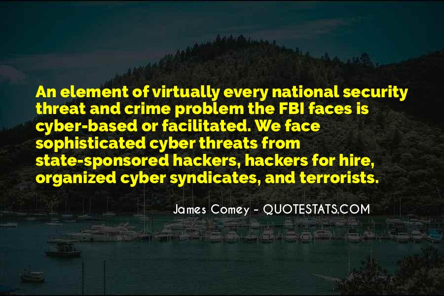 James Comey Quotes #684096