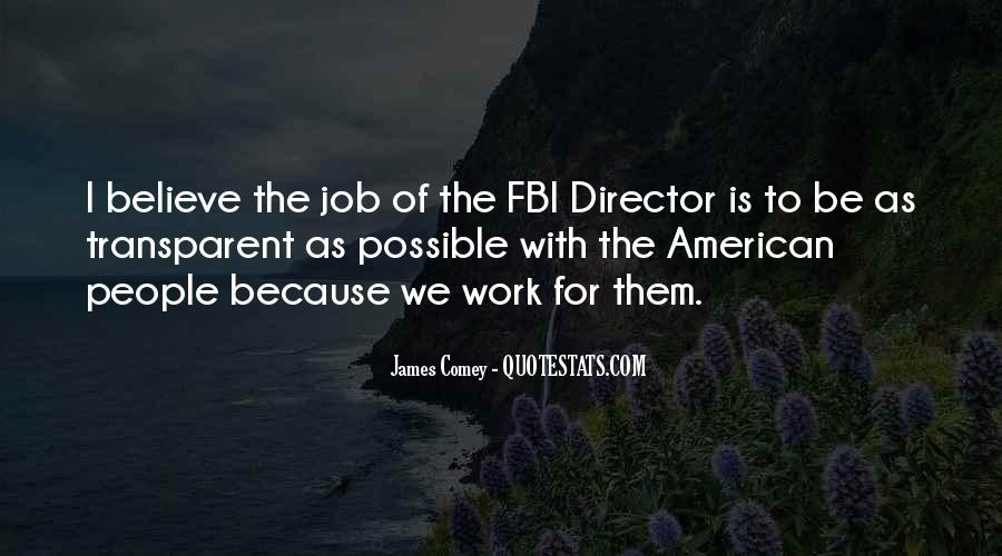 James Comey Quotes #791505