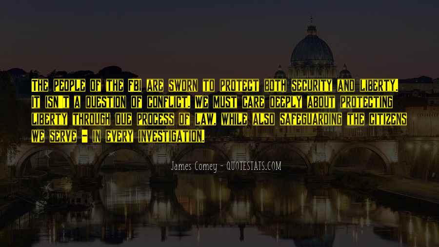 James Comey Quotes #818588