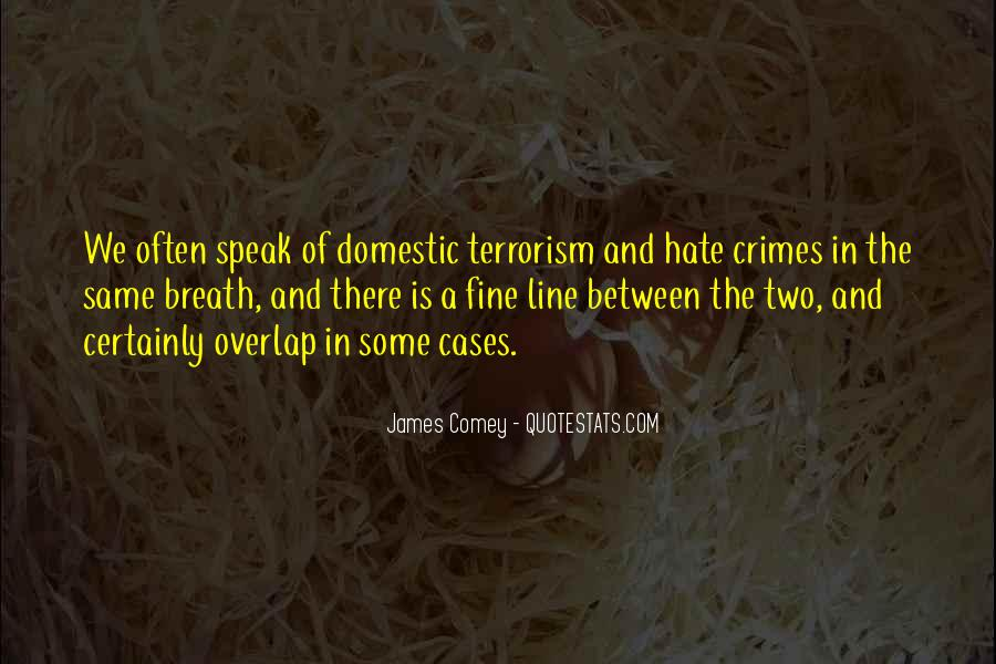 James Comey Quotes #924956