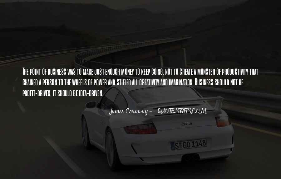 James Conaway Quotes #1647390
