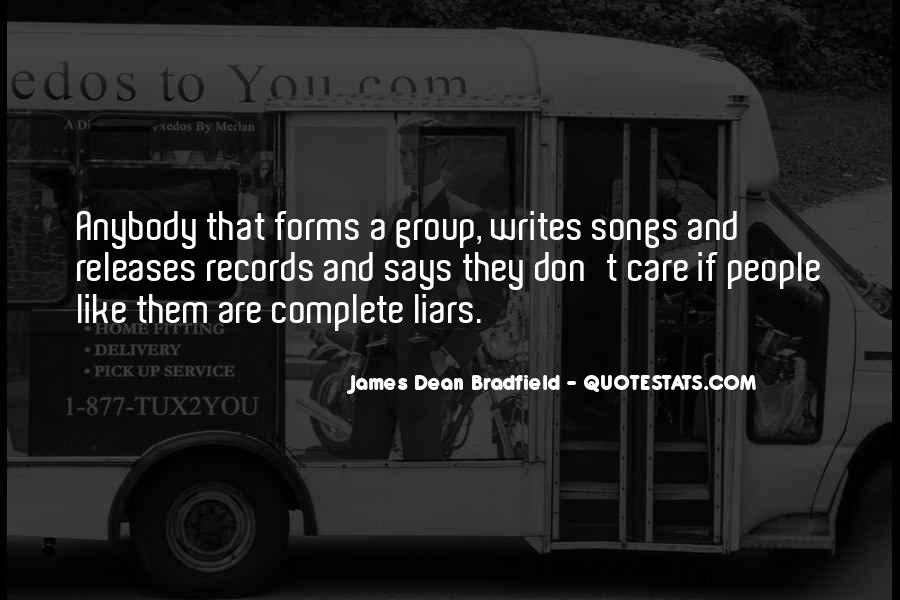 James Dean Bradfield Quotes #1091284