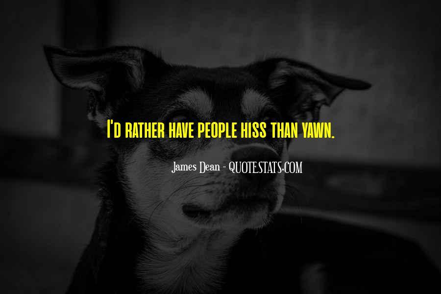 James Dean Quotes #1264512