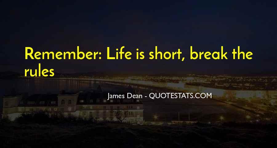 James Dean Quotes #851392