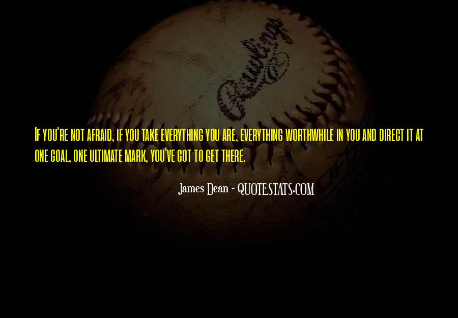 James Dean Quotes #927710