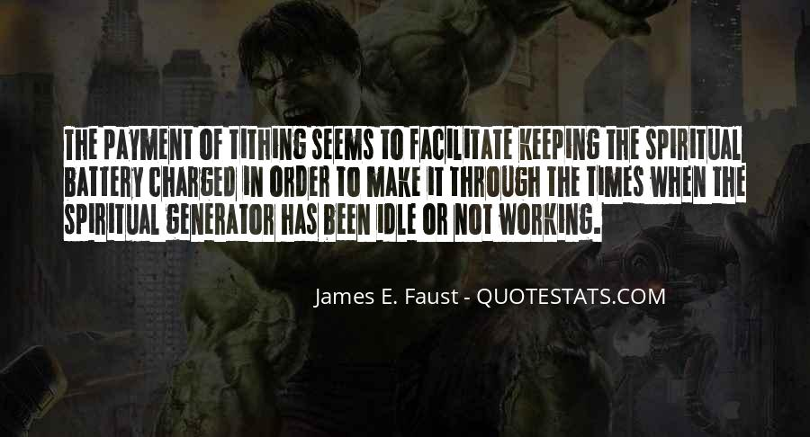 James E. Faust Quotes #1007386