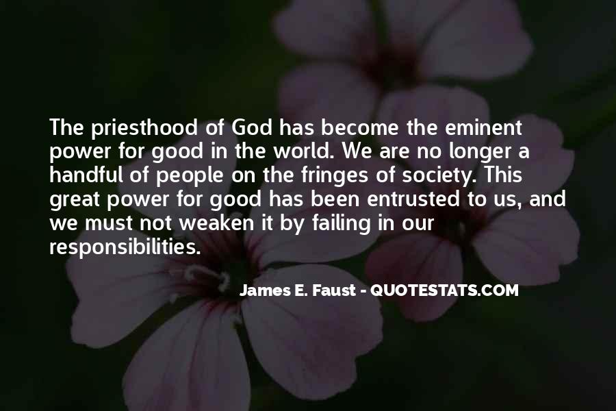 James E. Faust Quotes #1178386