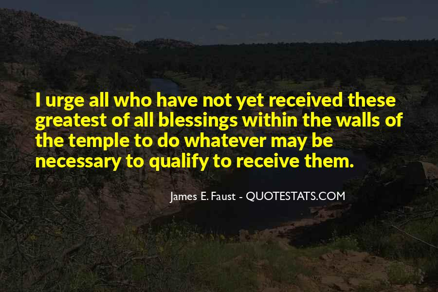 James E. Faust Quotes #1503871
