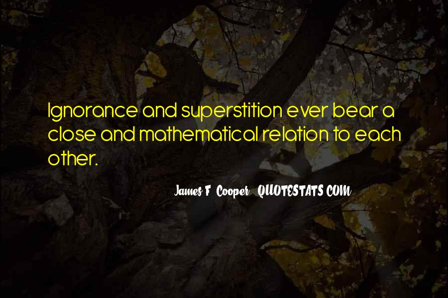James F. Cooper Quotes #105284