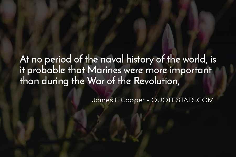 James F. Cooper Quotes #1075641