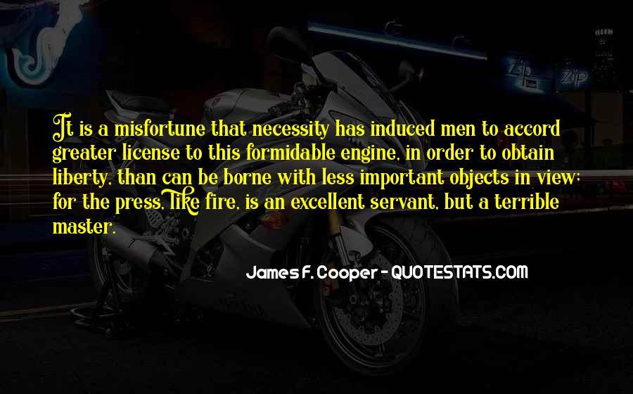 James F. Cooper Quotes #1075868