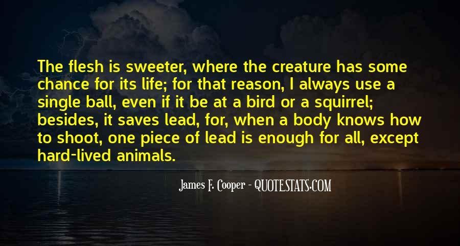 James F. Cooper Quotes #114250