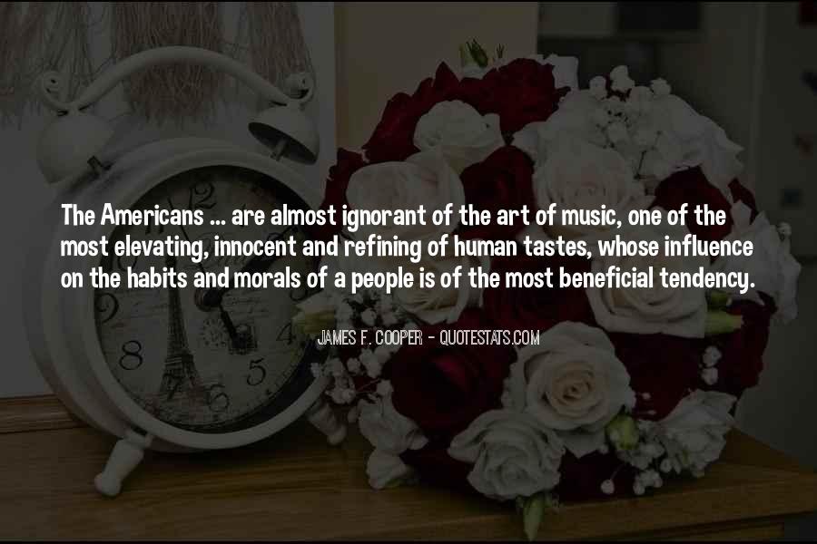 James F. Cooper Quotes #1267635