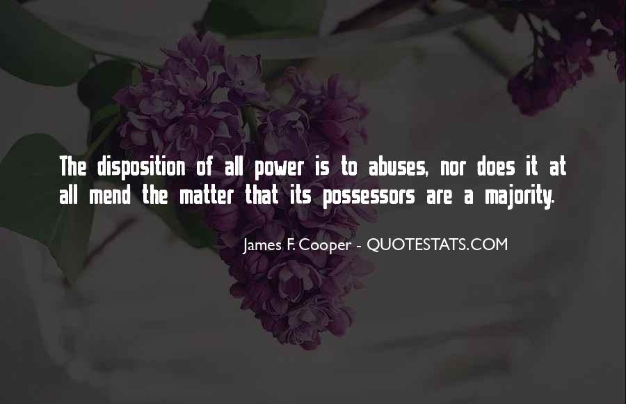 James F. Cooper Quotes #1268263