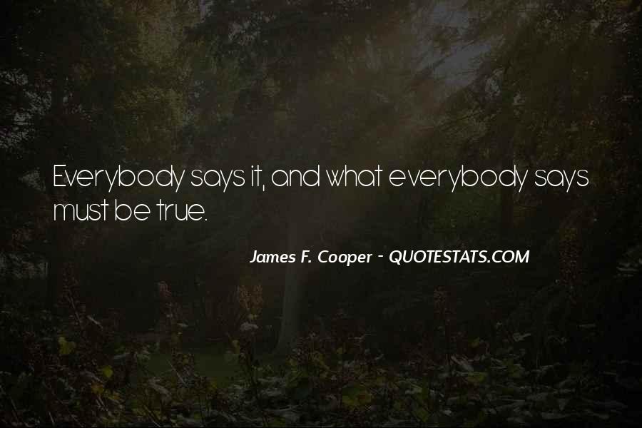 James F. Cooper Quotes #1270071