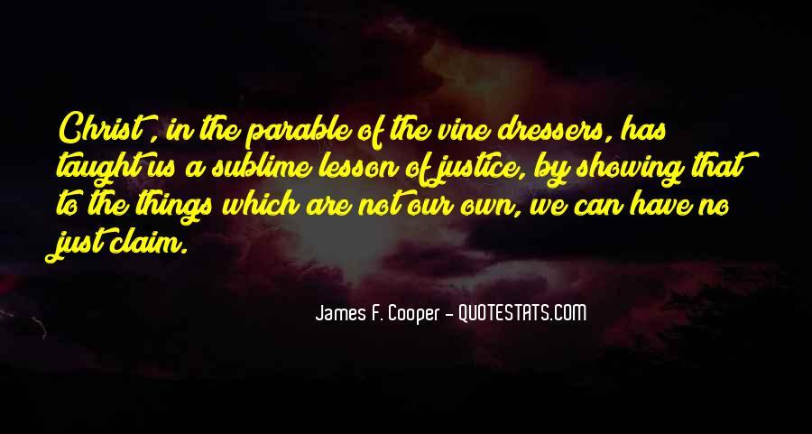 James F. Cooper Quotes #1482200