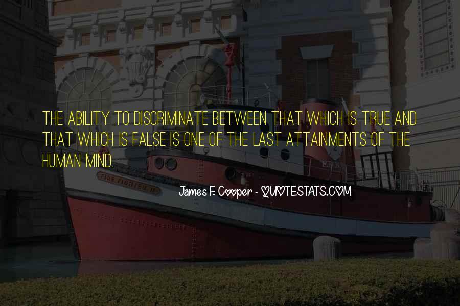 James F. Cooper Quotes #172278