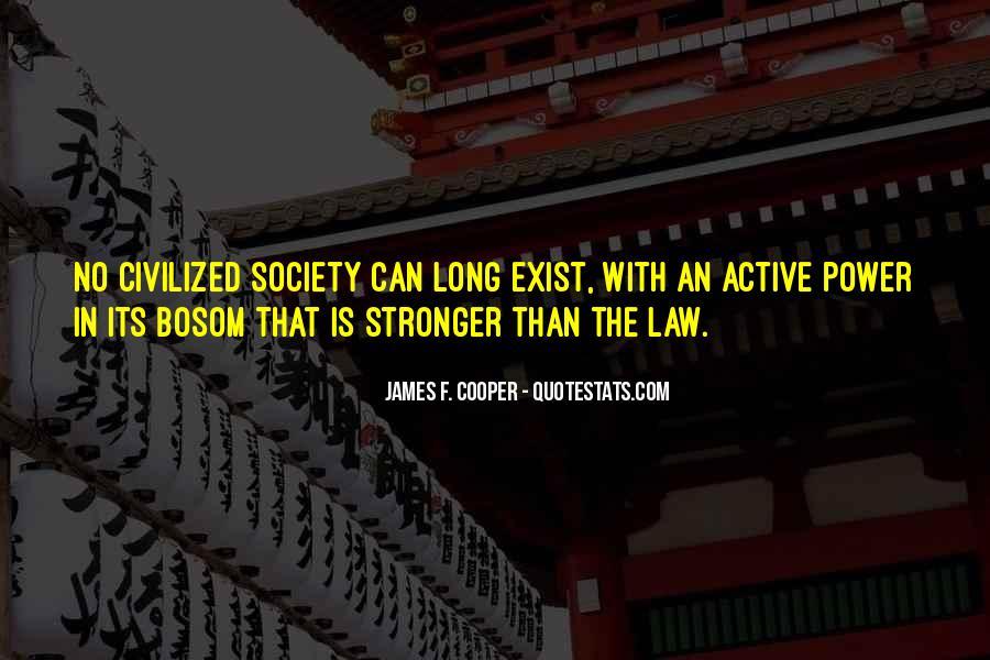 James F. Cooper Quotes #267244